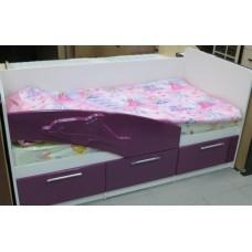 """Кровать  матовая """"Дельфин"""" 1,8*0,8"""