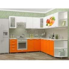 """Угловая кухня """"Персик"""" 2,4*2,6 м"""