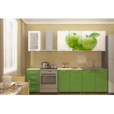 Кухня ЛДСП матовый с фотопечатью 2 метра
