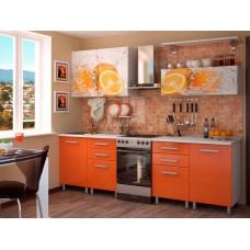 """Кухня """"Апельсин"""" 2 метра"""