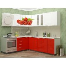 """Угловая кухня """"Малина"""" 1,4*2,4 м"""
