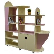 """Стеллаж для книг и игрушек """"Настенька"""""""