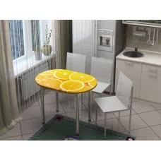 "Стол обеденный глянец ""Апельсин"""
